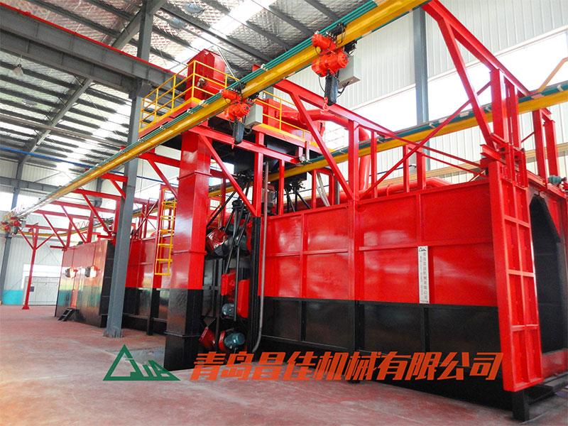 农机zhuan用抛丸机--广汇